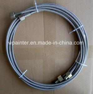 SAE 100 R14 2つの層のステンレス鋼編みこみのPTFEのホースアセンブリ