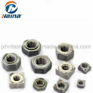 Autre type d'/ inoxydable rondes en acier en acier au carbone Square souder les écrous à bride hexagonal