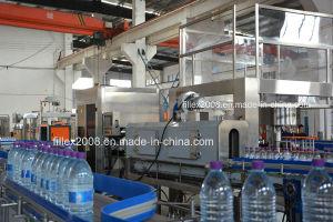 Água Mineral totalmente automático e a linha de produção e embalagem de bebidas