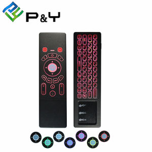 Mäuse-und der Tastatur-T6 Berührungsfläche Backlit 7 Farben-Radioapparat-Tastatur