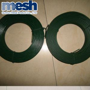 El hierro galvanizado recubierto de PVC de cable de enlace