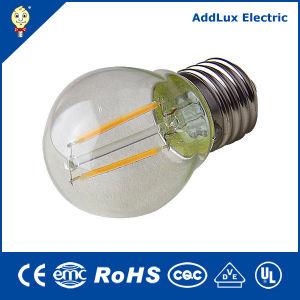 RoHS 3W-8W E27 de vidro transparente Mini LED Global da lâmpada de incandescência