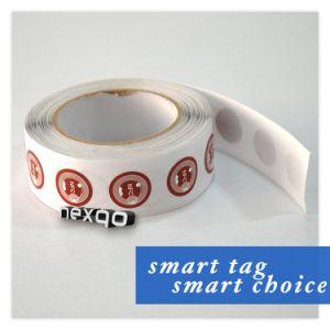 Kundenspezifischer passiver RFID NFC Marken-Einlegearbeit-Aufkleber/Kennsatz