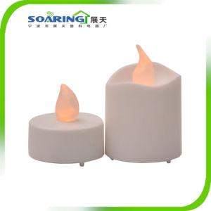 Мигающий светодиодный индикатор Flameless с аккумуляторным питанием чай (ZT18004)