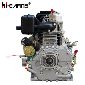 Dieselmotor met de Spitse Pomp van de Brandstof van de Klep van de Schacht en van de Solenoïde (HR186FAE)