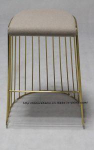 バースツールのレストランの椅子を食事するMordenのレプリカの金属のスタック可能ワイヤー
