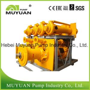 Pompa di pozzetto verticale centrifuga per il trattamento dell'acqua sporca