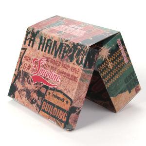 Sinicline 주문 인쇄 로고 마분지 구두 상자 디자인
