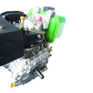 단 하나 실린더 수직 4 치기 공기에 의하여 냉각되는 디젤 엔진