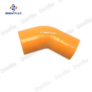 Reduzindo o cotovelo do tubo de borracha de silicone de borracha de silicone preta