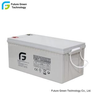 12v 200Ah Venta caliente la energía renovable solar batería VRLA