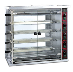 Interi Rotisseries del maiale del gas resistente professionale