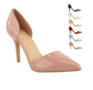 Clásico Pop de tacón de moda Dama Zapatos de Vestir