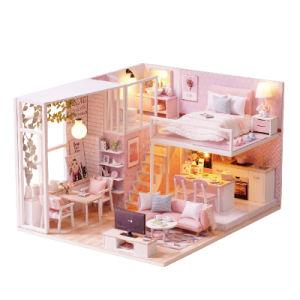 Giocattolo miniatura L-022 dei bambini del regalo della Camera di bambola di Cuteroom DIY