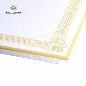L'ISO le revêtement du rouleau d'usine chinoise a fait l'impression Meatl les carreaux de plafond
