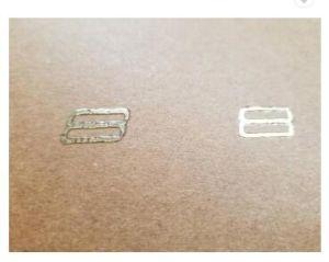 B2 Punto de inyección de tinta UV de la máquina de revestimiento con lámina fría