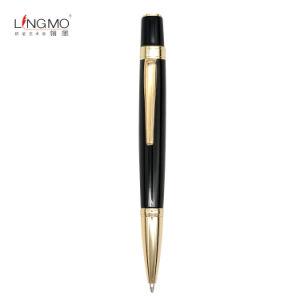 China itens promocionais em branco canetas promocionais de metal preta Dom caneta