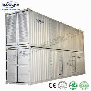 침묵하는 Perkins Ultra가 강화한 Containerized 디젤 엔진 발전기가 주문을 받아서 만들어진 1375kVA에 의하여 Hgihly 두 배 겹쳐 쌓인다