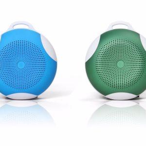 La tarjeta inalámbrica Bluetooth Mini Altavoz Subwoofer altavoz estéreo inalámbrico Contestar llamada de voz inteligente Altavoz exterior