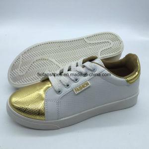 Unisex PU de inyección de alta calidad zapatos atléticos patineta patines (YJ18510-20)