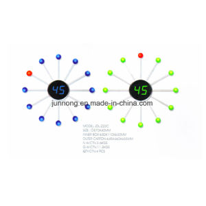 Sun Analog-Digital electrónica creativa en forma de Reloj LED