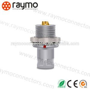 コネクターを受けとっている熱い販売の互換性のあるLemos Epg 00b 2 Pinの金属の円のプッシュプル自己