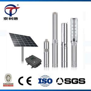 La Chine AC DC sans balais d'Irrigation de l'eau de puits profond Pluriétagé submersible pompe solaire