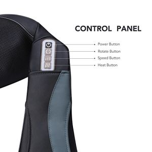 アマゾン熱の熱い販売のShiatsuの首及び背部マッサージャー