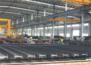Bastidor de la estructura de acero Peb Edificio Comercial / Sala de Exposiciones Exposición /