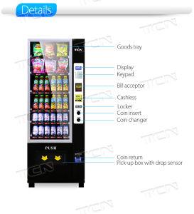 Npt Soda uma máquina automática de venda 6g com capa preta