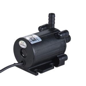 DC12V 450l/h de débit de relevage de l'énergie de 5 m de l'enregistrement de la pompe amphibie Low-Noise