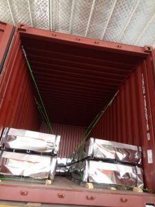 Complet sur le disque de carton ondulé galvanisé feuilles/ tuile de toit de métal pour le marché africain