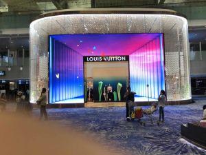 Affichage du panneau LED de location d'intérieur pour le spectacle, de la scène, conférence P3.912.98/P/P/P5.954.81