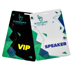 Carte Badge En PVC Col De Levenement Controle Dacces Visite Daffaires
