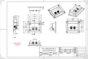 RoHS 니켈에 의하여 도금되는 의무적인 포스트 오디오 정연한 끝 컵 (DJ-028-03)