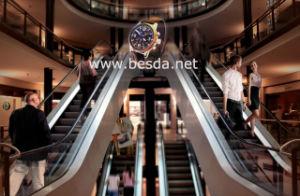 Visualizzazione di pubblicità olografica di gestione amichevole del ventilatore del LED