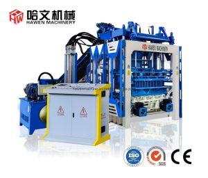 Full automatic máquina para fabricação de tijolos de concreto\ máquina de tijolos automática\Bloquear a máquina