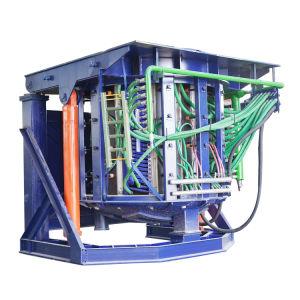 12t Coreless Frequência Intermediária Electric forno de indução para o aço/ferro/aço inoxidável/cobre/alumínio de fundição de liga /Casting