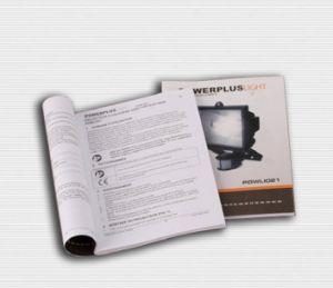 フルカラーマニュアルまたはOffestの手動印刷紙マニュアル