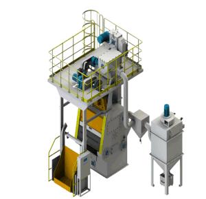 전락 폭파 닦는 기계 제조