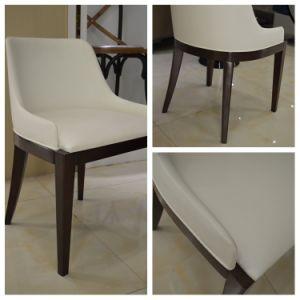 El roble de cuero de imitación silla de comedor para el Hotel ...