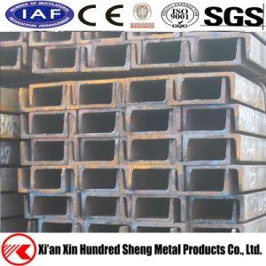 ASTM A36 A653 Ss400 ha scanalato i fasci galvanizzati di figura di figura U della Manica d'acciaio C del metallo