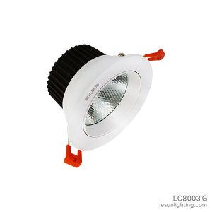 COB Venda Quente Alto Brilho da luz para baixo rebaixado com boa qualidade LC8003G
