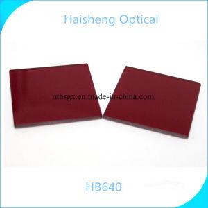 A HB640 Vidro óptico vermelho
