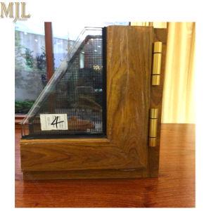 Лучшая цена клад составные деревянные зерна алюминиевый каркас дверная рама перемещена окна