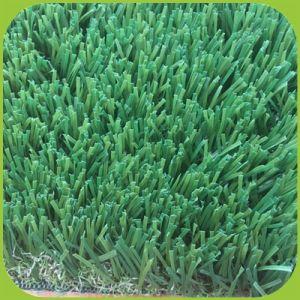 Setzendes Grün Tulf künstlicher Rasen-Gras-Gymnastik-Rasen-Innen-/im Freiengarten-Fälschungs-Gras