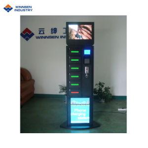 Ladung-Fingerabdruck-Scanner-fasten Emergency Handy-Aufladeeinheits-Schließfach