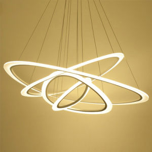 Quarto LED simples e moderna sala de estar Iluminação Pendente
