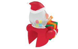 Het nieuwe Huis van Kerstmis van de Decoratie van Tneme van Kerstmis van het Landschap van Kerstmis van de Verkoop van het Ontwerp Hete Opblaasbare