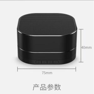 Des LED-helle Bluetooth Miniaudio TF-Karte USB-rufender im Freien Minifreisprechlautsprecher lautsprecher-drahtlose Lautsprecher-Metallbewegliche drahtlose Bluetooth Lautsprecher-FM Radio